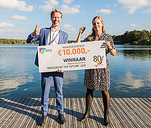 Wageningen entrepreneurs win Masters of the Future