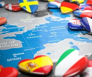 wat zijn de kosten voor modelrecht in Europa?