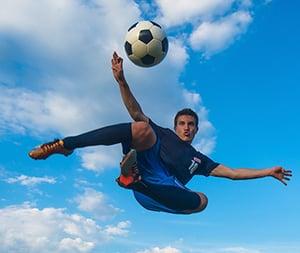 Kun je een voetbaltruc octrooieren?