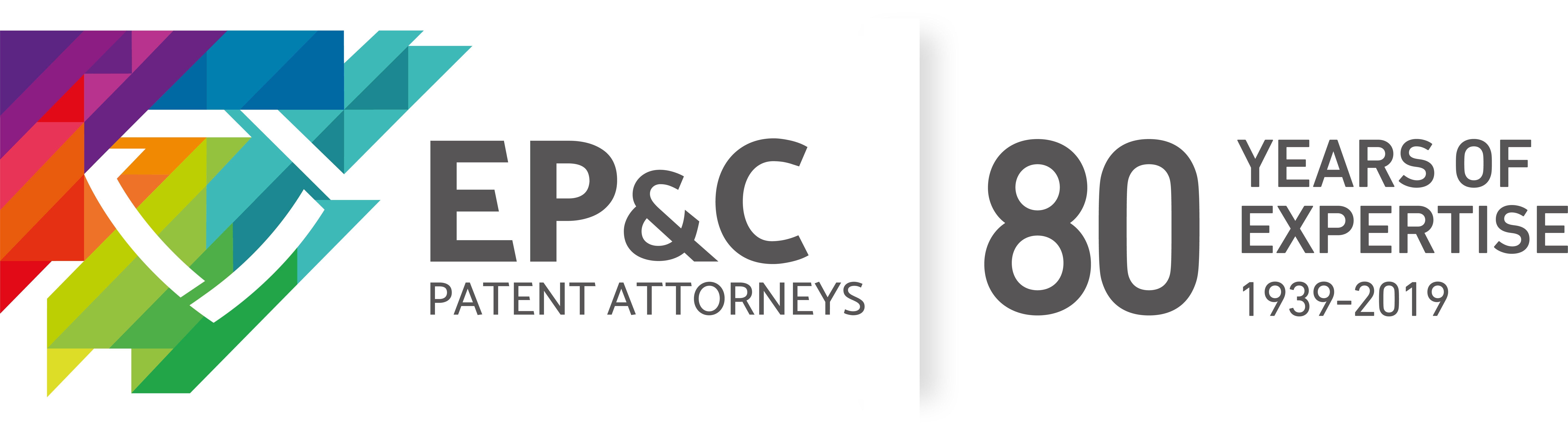EP&C logo met 80 years of expertise_handtekening_2018