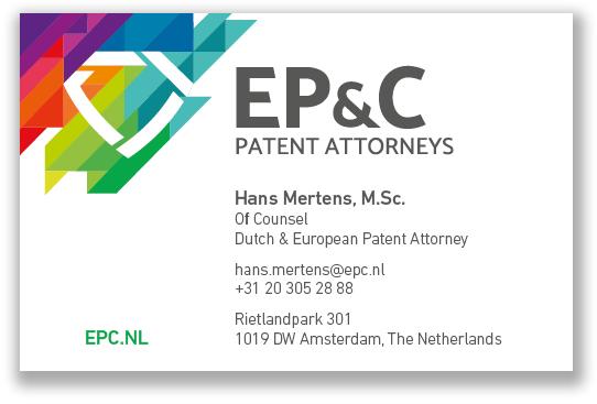 EP_C Visitekaartjes 2018 - Hans Mertens