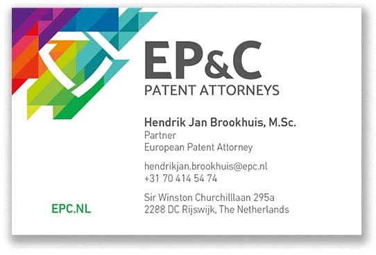 EP_C Visitekaartjes 2018 - Hendrik Jan Brookhuis