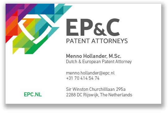 EP_C Visitekaartjes 2018 - Menno Hollander