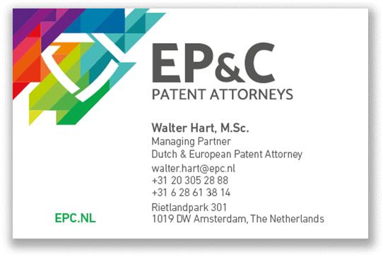 EP_C Visitekaartjes 2020 - Walter Hart