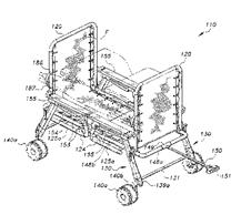 Dual-chair beach wagon